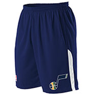 Custom Team NBA Utah Jazz Adult Shorts