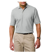 Custom Mens Tall Egyptian Ringspun Cotton Pique Polos Mens