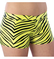 Adult Animal Print Hot Short