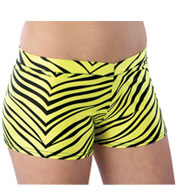 Youth Animal Print Hot Short