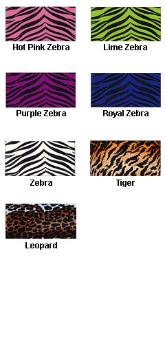 Adult Animal Print Sports Bra - All Colors