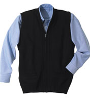 Custom Cardigan Zip Vest