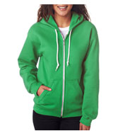 Custom Anvil Ladies Fashion Full-Zip Hooded Sweatshirt