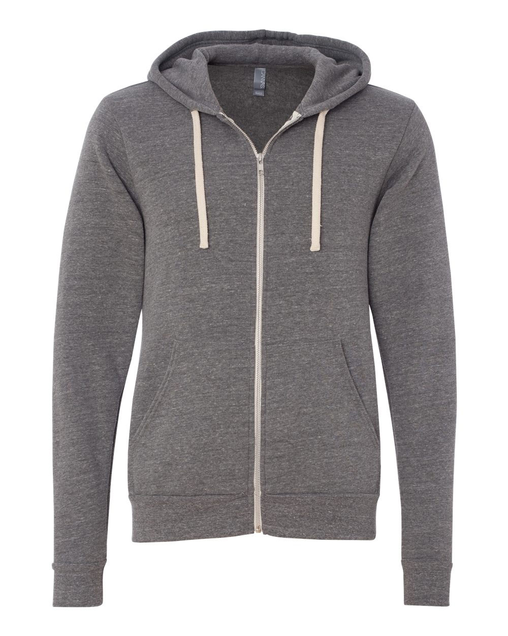 Bella + Canvas Unisex Triblend Sponge Fleece Full-Zip Hoodie