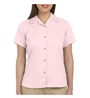 Harriton Ladies Bahama Cord Camp Shirt
