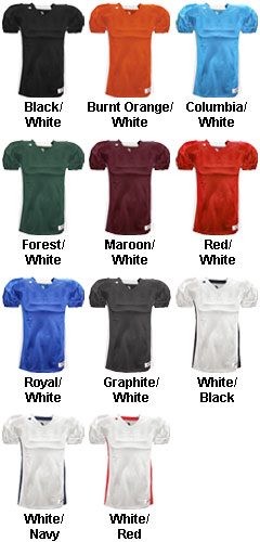 Badger Youth East Coast Football Jersey - All Colors