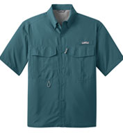 Custom Eddie Bauer® Short Sleeve Performance Fishing Shirt