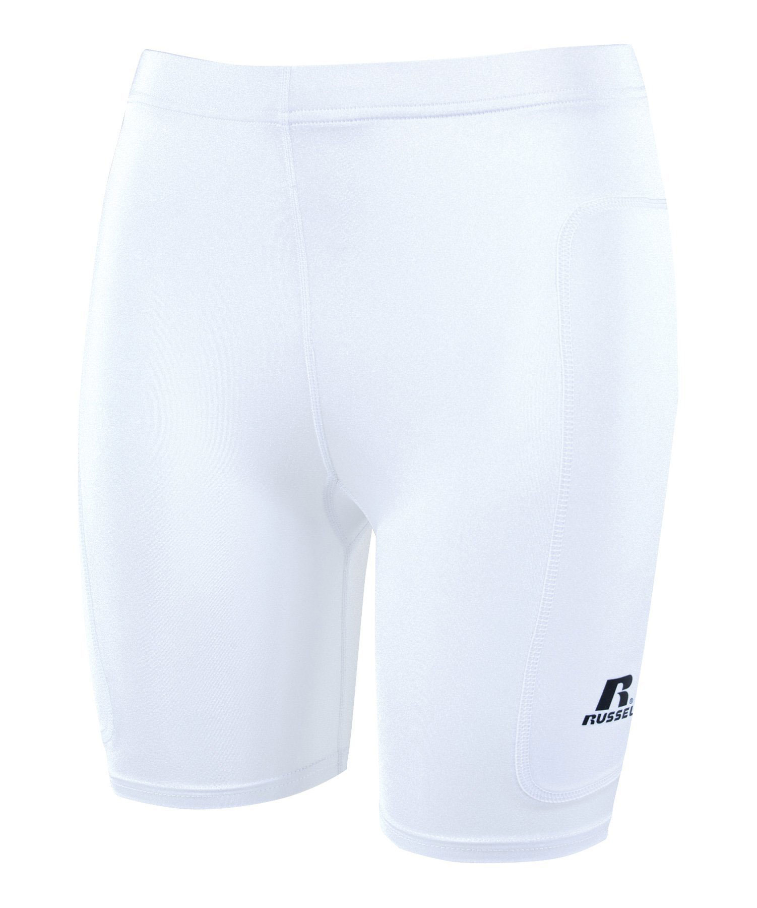 Russell Athletic Womens Dual Layered Lo-Rise Sliding Short