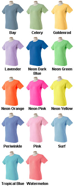 Authentic Pigment Ladies Ringspun T-shirt - All Colors