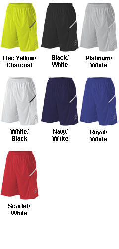 Alleson Adult Bounce Basketball Short - All Colors