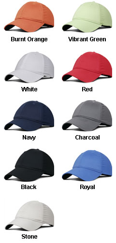 Moisture Wicking Unstructured Cap with Velcro Back - All Colors