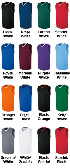 Womens Transition Game Jersey - All Colors