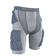 Custom Russell Youth Integrated 5-pc Pocket Football Girdle