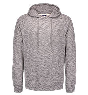 Weatherproof Long Sleeve Heather Pullover Tee with Hood
