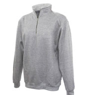 Custom Updated Quarter Zip Fleece with Stand Up Collar Mens