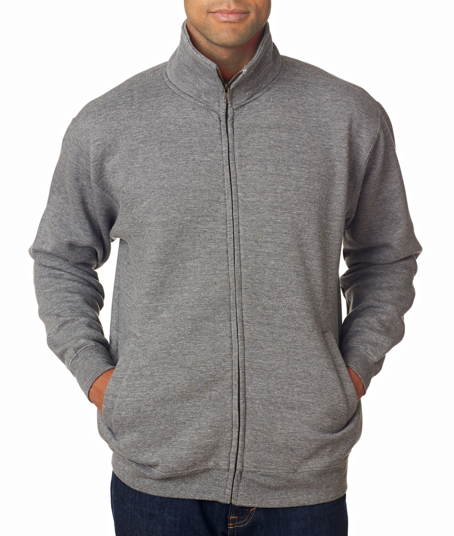 Weatherproof Adult Cross Weave� Warm-Up Blend Sweatshirt