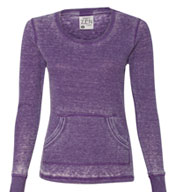 J America- Ladies Zen Thermal Long Sleeve T-Shirt