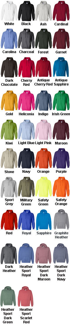 Gildan Adult  Blend Hooded Sweatshirt - All Colors