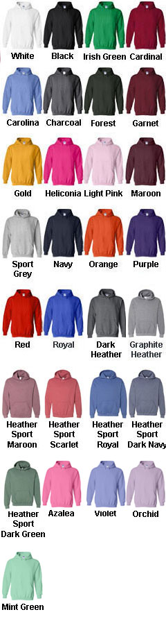 Gildan Youth Heavy Blend Hooded Sweatshirt - All Colors