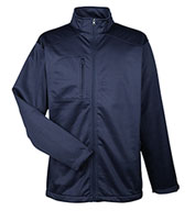 Custom UltraClub Mens Water Resistant Soft Shell Jacket