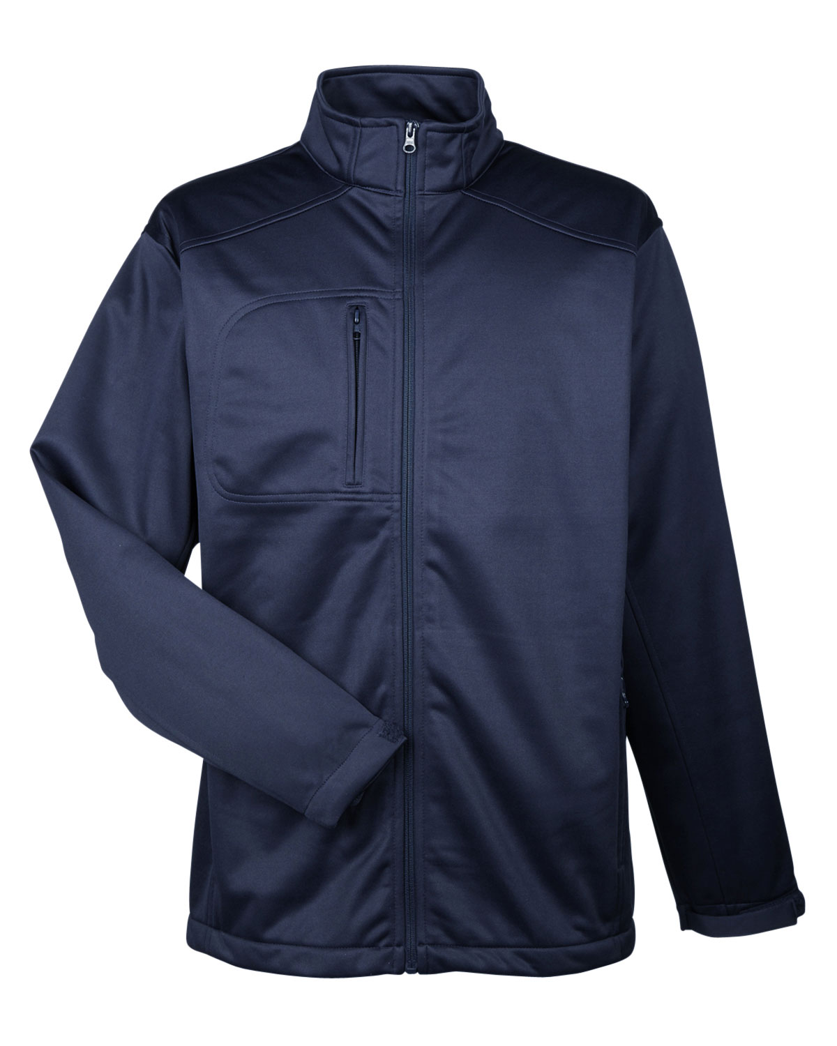 UltraClub Mens Water Resistant Soft Shell Jacket