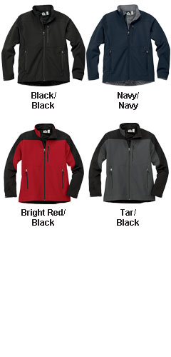 Storm Creek Mens Waterproof/Breathable Soft Shell Jacket - All Colors