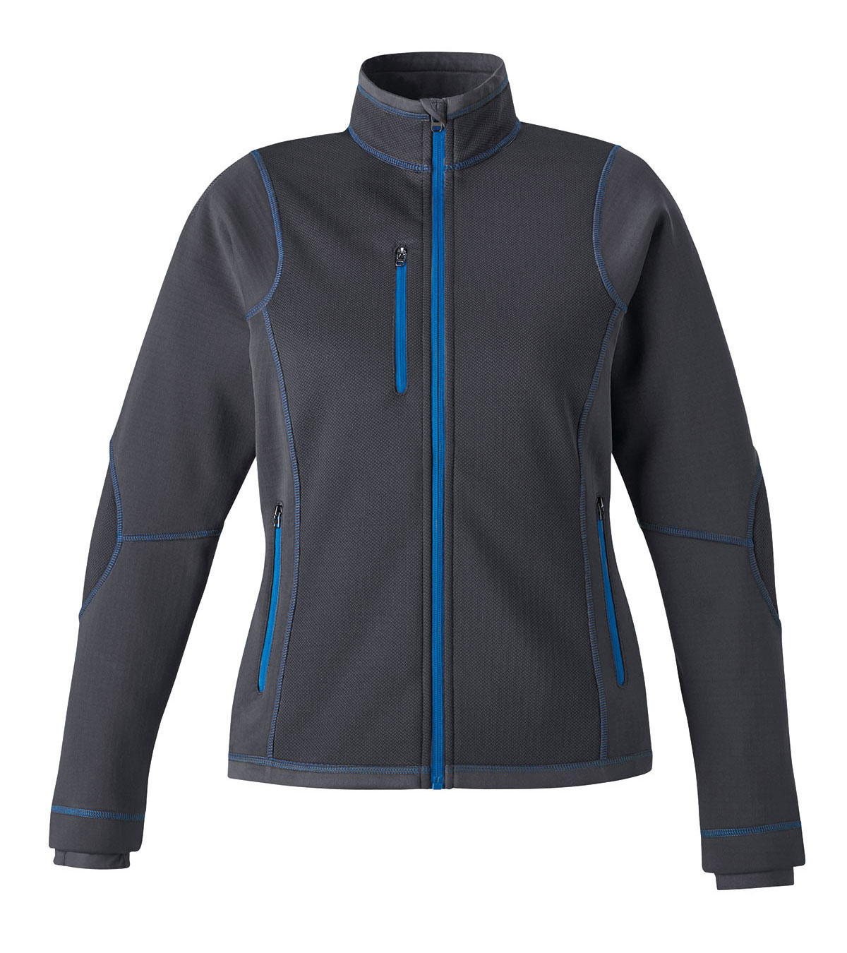 Ladies North End Textured Fleece Jacket