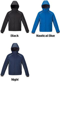 Mens Insulated Jacket with Print - All Colors