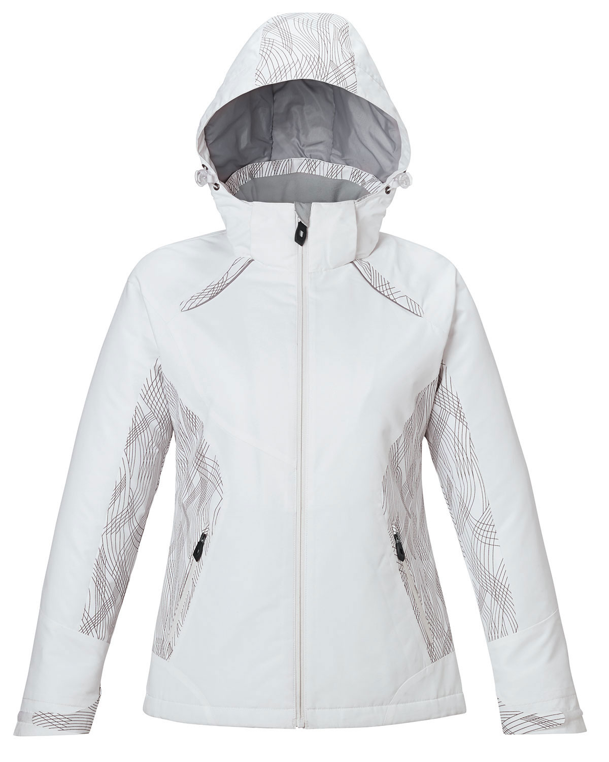 Womens Insulated Jacket with Print