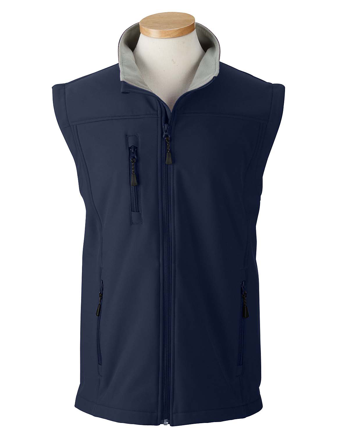 Mens Wind and Water Resistant Soft Shell Vest
