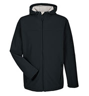 Custom Mens Soft Shell Hooded Jacket Mens