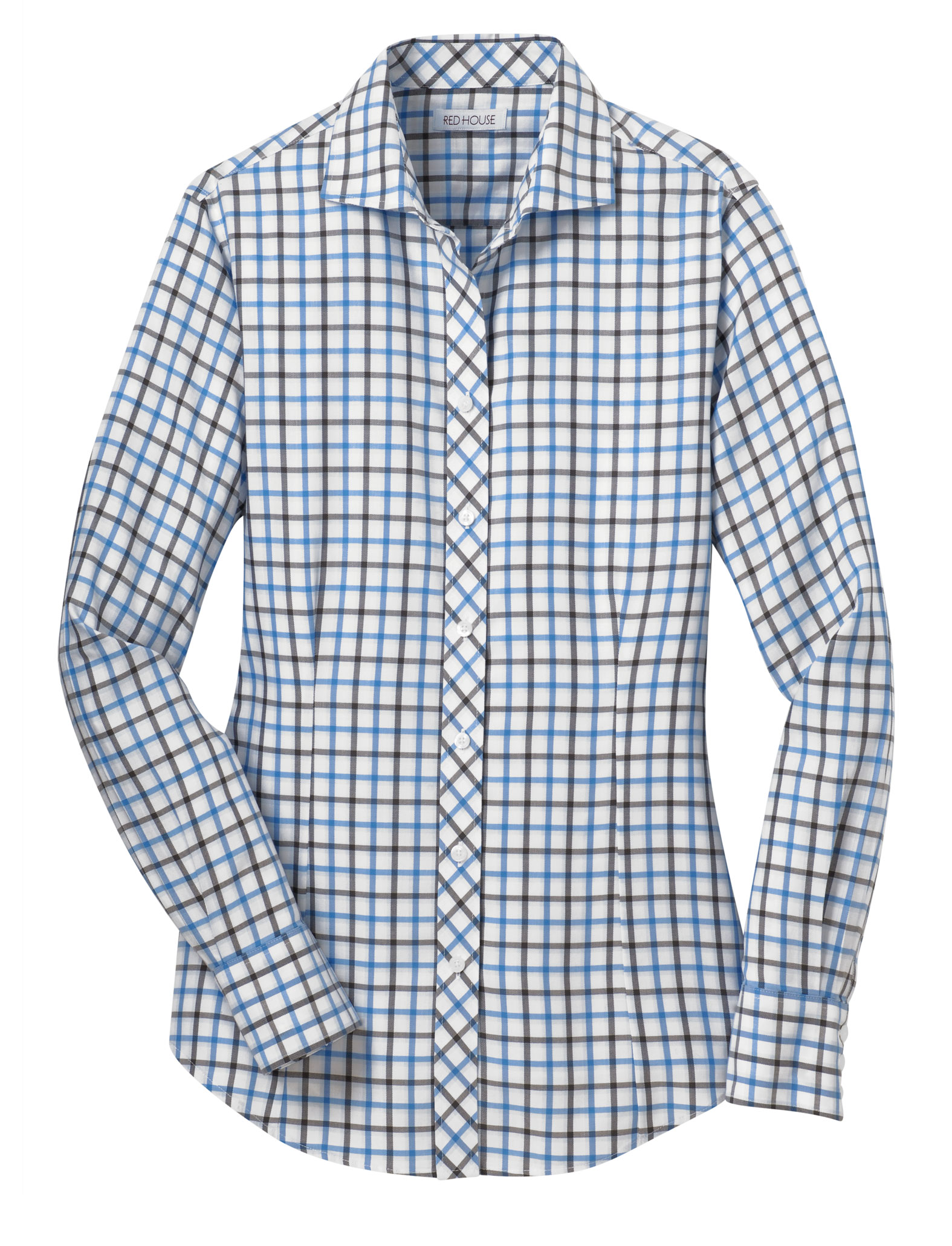 Red House� Ladies Non-Iron Tricolor Check Shirt