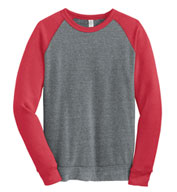 Custom Alternative Apparel Champ Colorblock Crewneck Sweatshirt