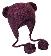 District® Hand Knit Cat-Eared Beanie