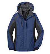 Ladies Colorblocking 3-in-1 Jacket