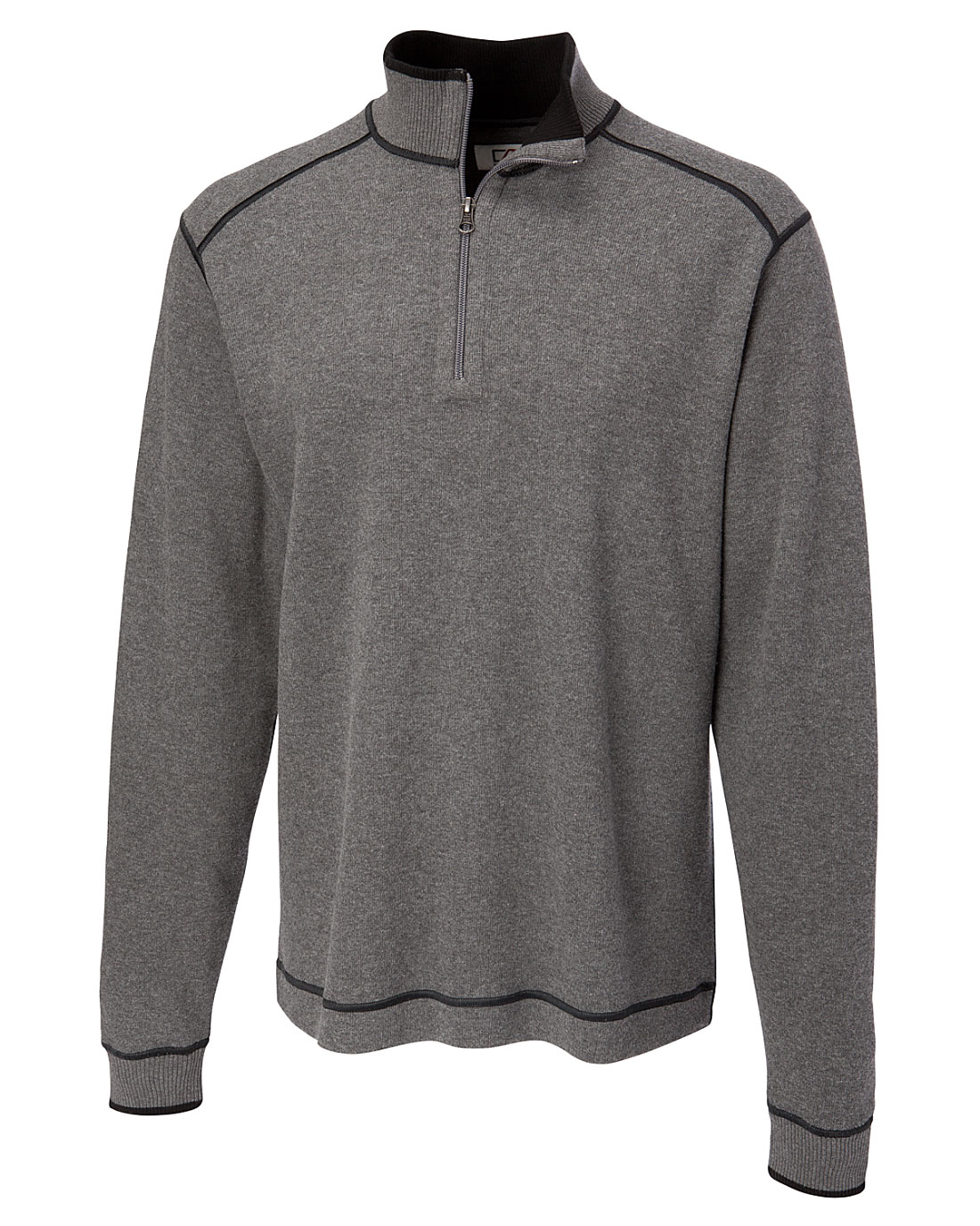 Mens Cutter and Buck Overtime Half Zip In Big and Tall Sizes