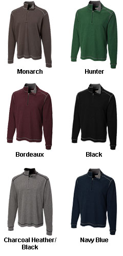 Mens Cutter and Buck Overtime Half Zip - All Colors