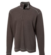 Custom Mens Cutter and Buck Overtime Half Zip
