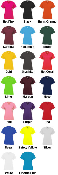 Badger B-Core Ladies Shortsleeve V-Neck Tee  - All Colors