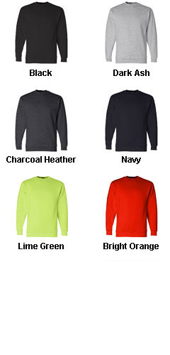 Bayside USA Made Crewneck Sweatshirt - All Colors