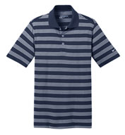 Custom Mens Nike Golf Dri-FIT Stripe Polo