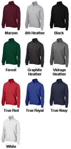Mens Sport-Tek� 1/4 Zip Sweatshirt - All Colors