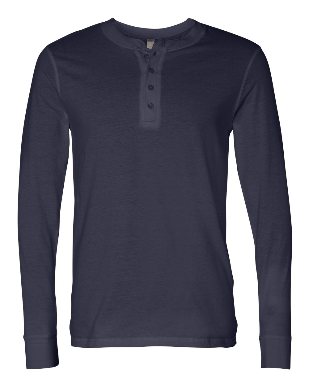 Mens Long Sleeve Henley Jersey