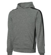 Sport-Tek® - Sleeve Stripe Pullover Hooded Sweatshirt -Tall