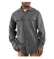 Custom Carhartt Mens Chamois Long-Sleeve Shirt