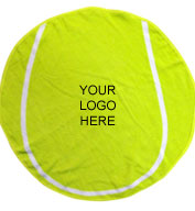 Custom Tennis Ball Shaped Towel