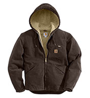 Custom Carhartt Mens Sandstone Sierra Jacket
