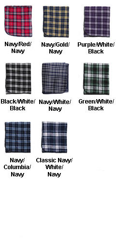 Flannel Blanket - 60 x 50 - All Colors