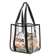 Custom Clear Event Tote Bag