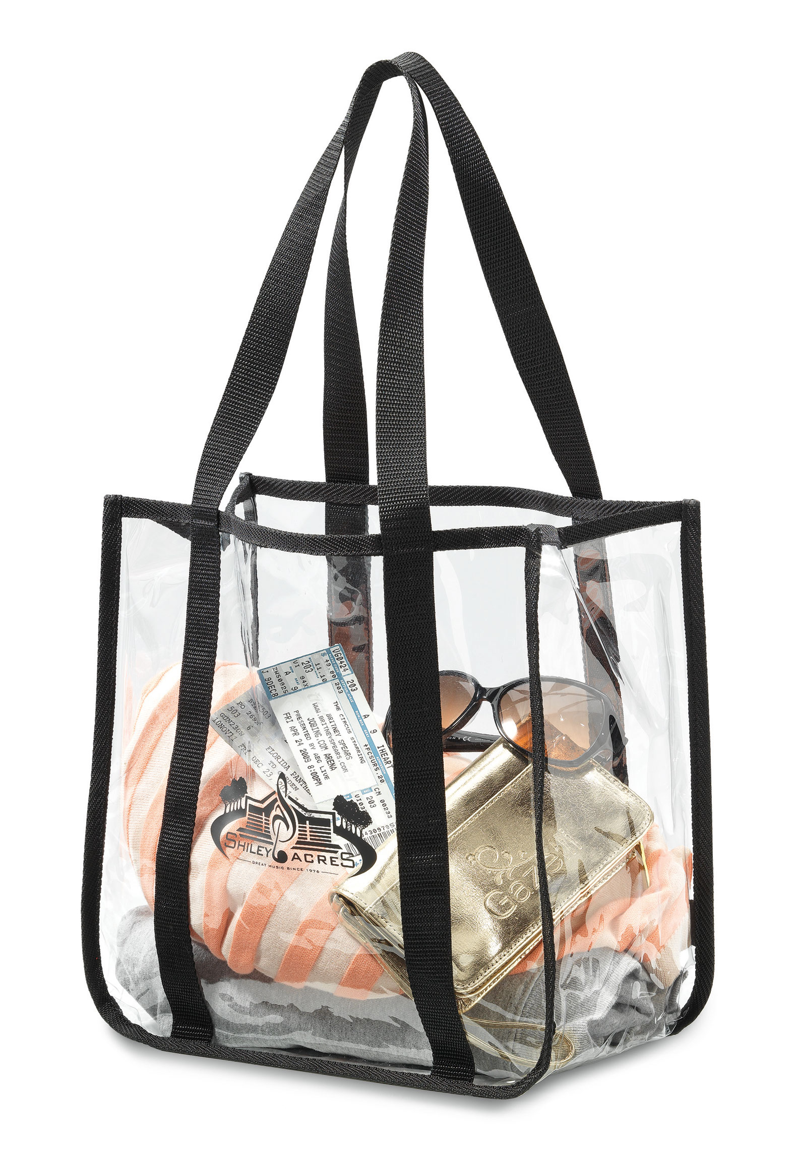 Clear Event Tote Bag